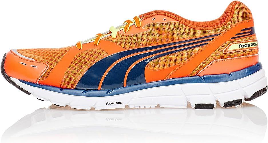 Puma Zapatillas Running Faas 600 Naranja EU 46 (UK 11): Amazon.es ...
