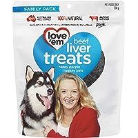 love'em Beef Liver Treats 250g, 1 Pack