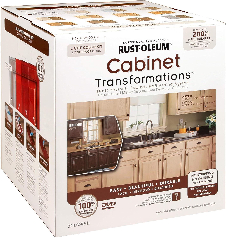 RUST-OLEUM 258241 Light Tint armario Transformaciones Kit, Grande: Amazon.es: Bricolaje y herramientas
