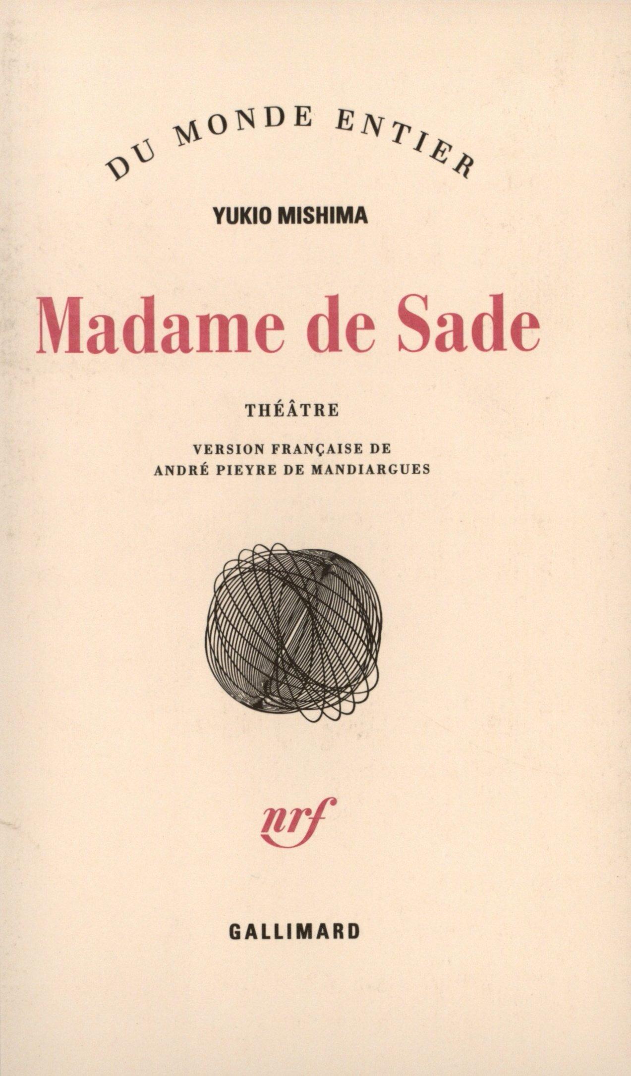 Madame de Sade (French) Paperback – November 26, 1976
