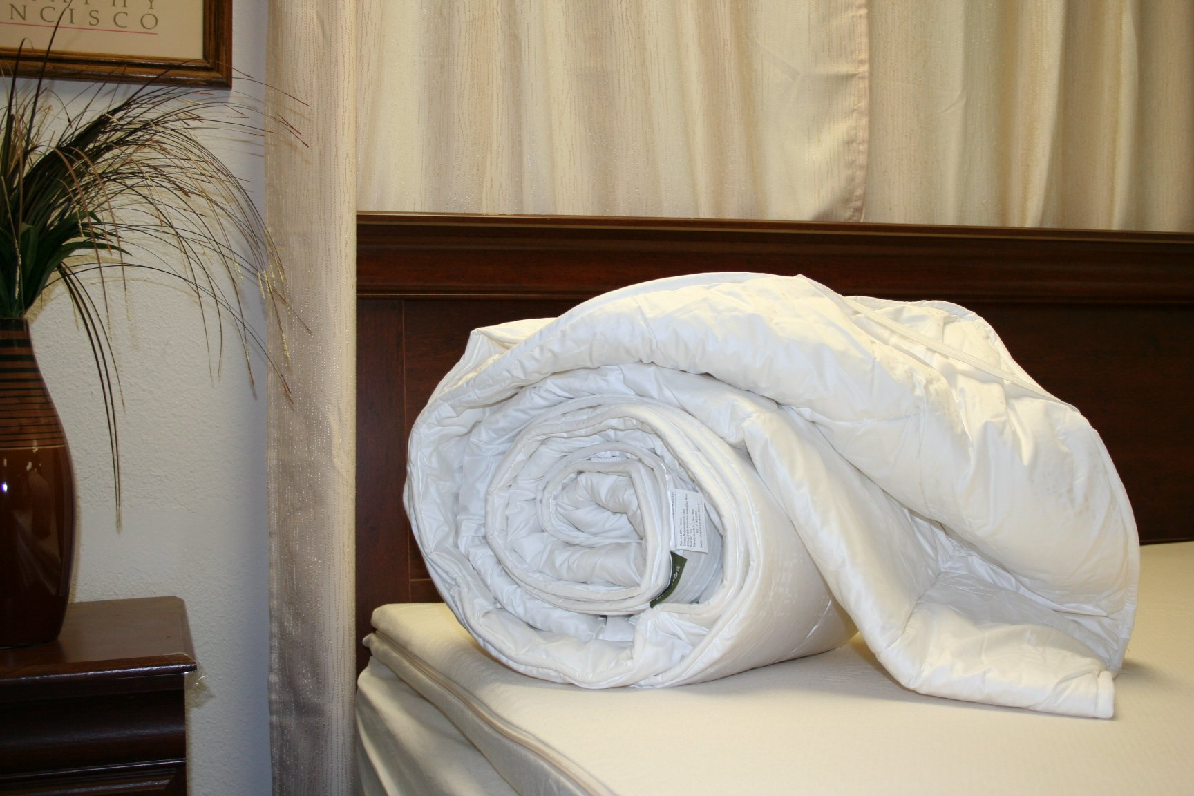 Wool mattress pad with Organic Cotton covering - Full by OrganicTextiles