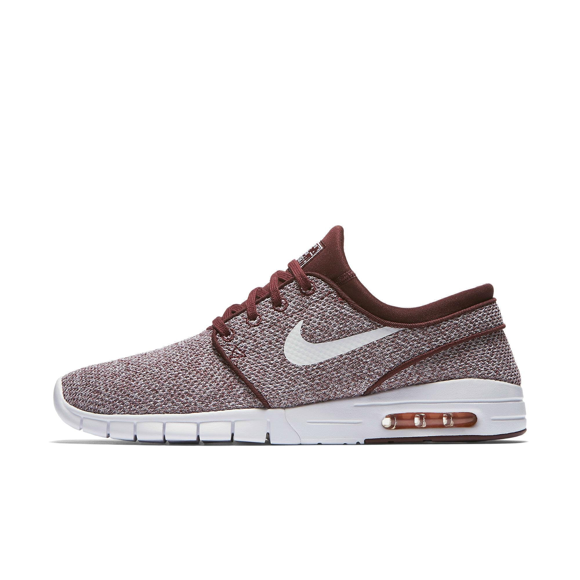 half off ff00f 4accd Galleon - Nike Men s Stefan Janoski Max Dark Team Red White Sneakers - 13  D(M) US