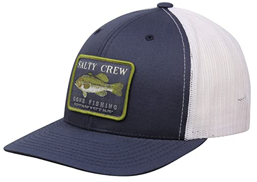 be026067d6c620 Image Unavailable. Image not available for. Color: Salty Crew Dixon Retro Trucker  Hat - Navy/White