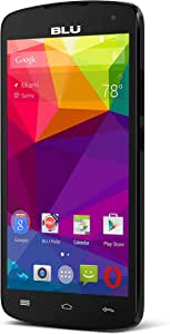 "BLU Studio X8 HD - 5.0"" GSM Unlocked Smartphone -Black"