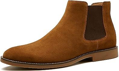 BURTENSE Men's Chelsea Boots Slip On