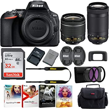 Amazon.com: Nikon D5600 - Funda para cámara réflex digital ...