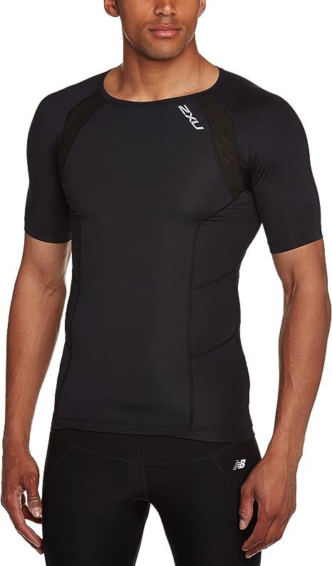 Amazon.com: 2XU Men's Short Sleeve Compression Top: Clothing