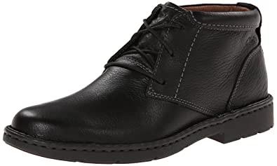 Clarks Men's Stratton Limit M Chukka Boot, Black, ...