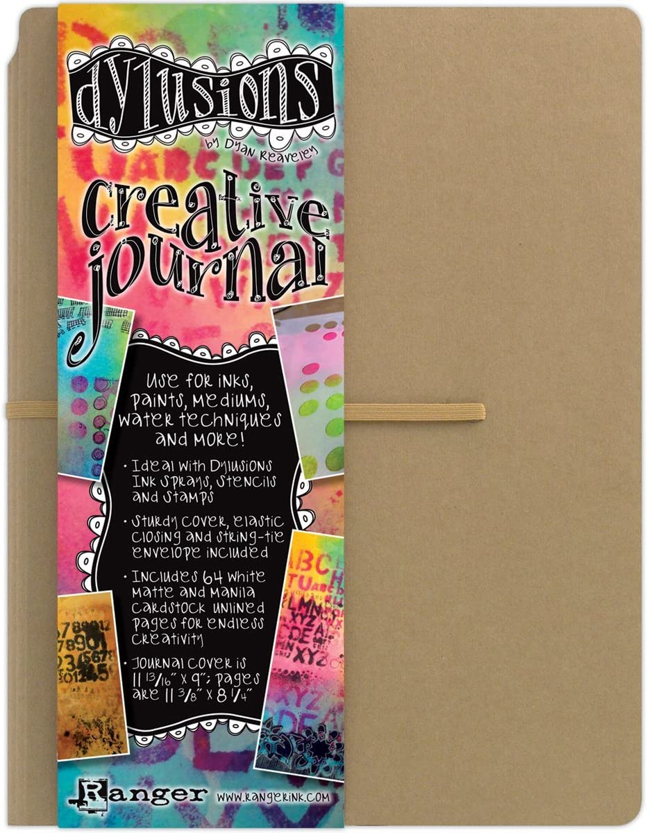 Dylusions Dyan Reaveley's Creative Journal, 11.375 by 8.25-Inch
