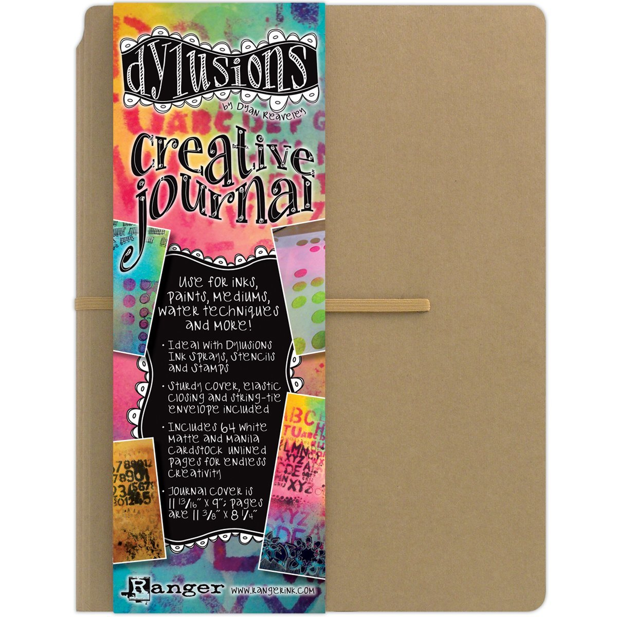 Ranger DYJ34100 Dylusions Dyan Reaveley's Creative Journal, 11.375 by 8.25-Inch by Ranger