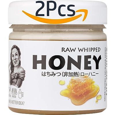 【Amazon.co.jp限定】アピスアルバ 生はちみつ RAW WHIPPED HONEY 200g×2個セット 送料込740円(370円/個)