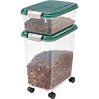 Deals on IRIS Airtight Pet Food Storage Container Combo