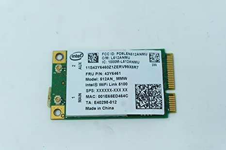 COMPRO PC Tarjeta de Red Wireless para Lenovo U550 - 3749 ...