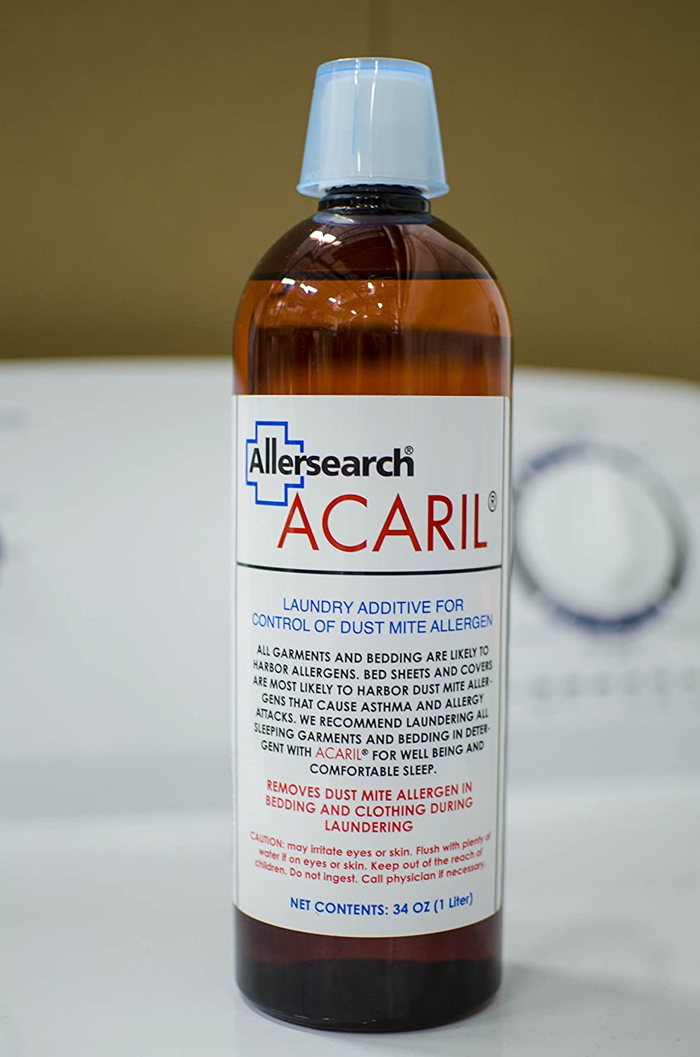 Allersearch® ACARIL™ 34 Oz (1 Liter) Laundry Additive