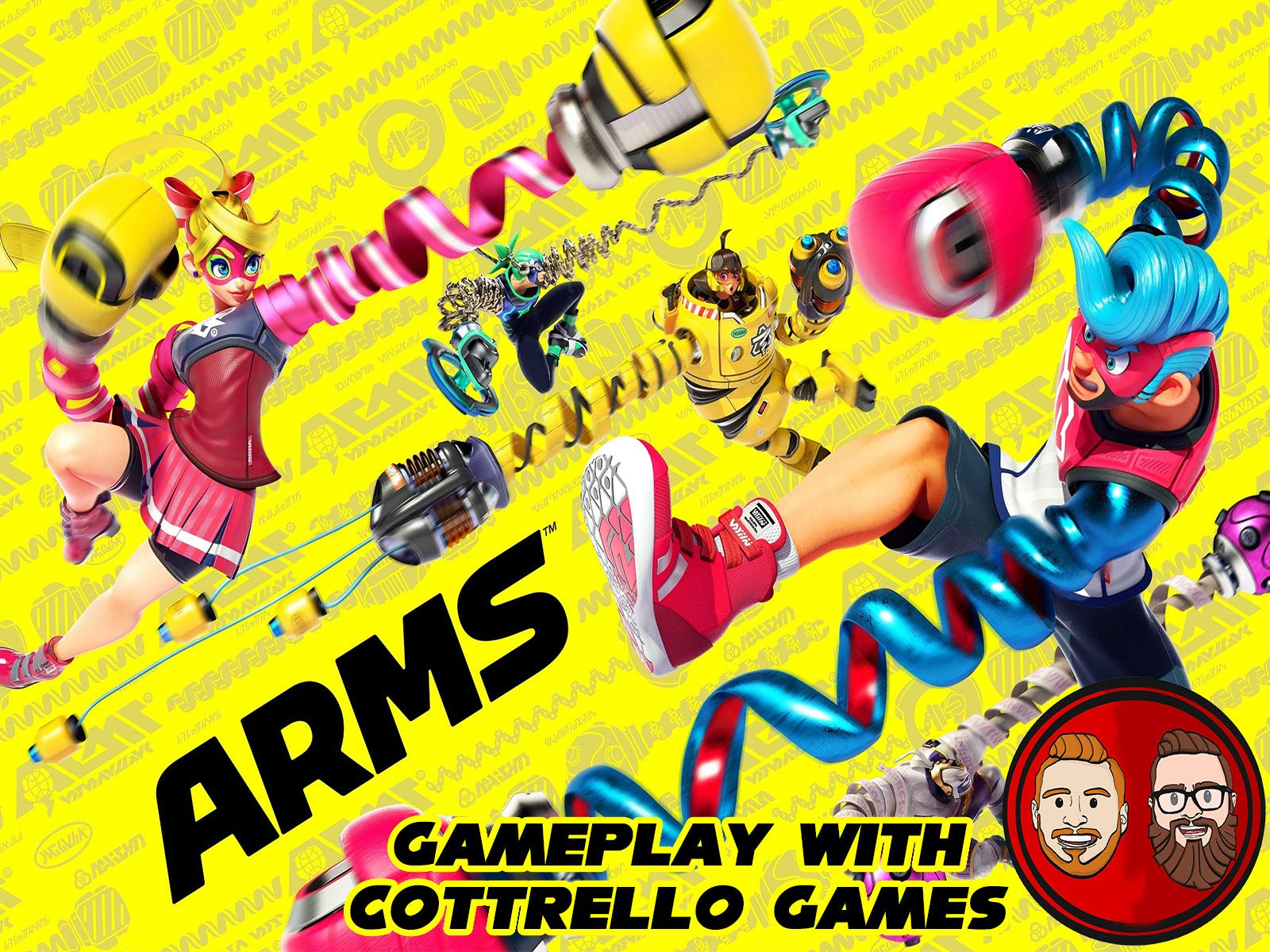 ARMS Gameplay with Cottrello Games