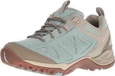 Merrell Womens Siren 3 Walking Shoes Brown Green Sports Outdoors