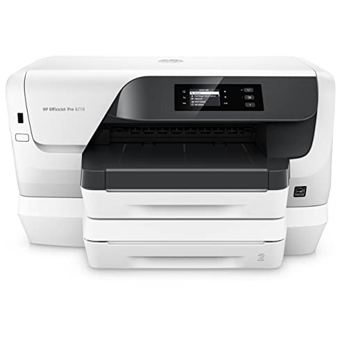 HP Officejet Impresora Pro 8218 Impresora de tinta A4 Impresora USB 2 0 Ethernet Wifi 600 x 1200 500 hojas 22 S Min Blanco