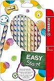 STABILO EASYcolors matite colorate ergonomiche per Mancini - Astuccio da 12