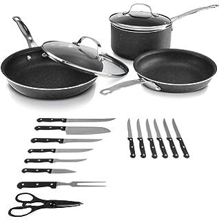 Amazon.com: Graniterock - Juego de utensilios de cocina ...
