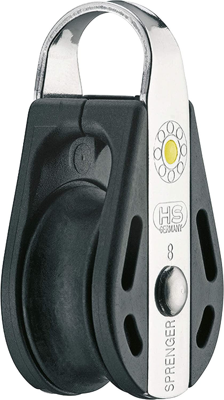 Sprenger XS de entrada de bloque de rodamientos de bolas Micro 6 mm