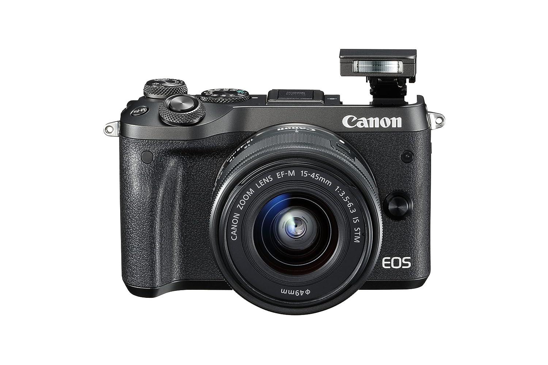 Canon M6 Mirrorless Camera with EF-M 15-45 mm Lens: Amazon.co.uk: Camera &  Photo