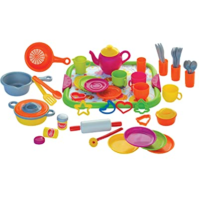 Gowi Toys Austria Kitchen Set (52-Piece): Toys & Games