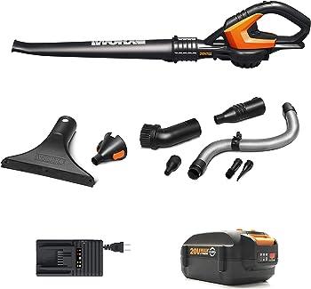 Refurb Worx WG545.4 Cordless Sweeper/Blower Kit