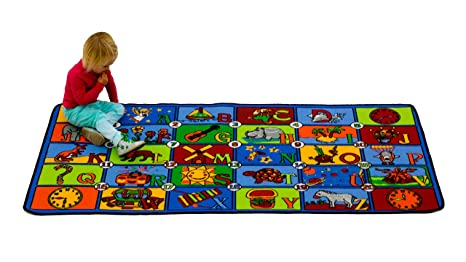 Amazon Learning Carpets Time To Learn LC 176 Toys Games