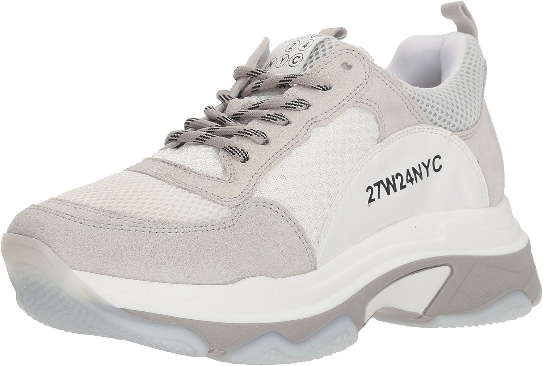 JSlides Womens Ayla White Sneaker