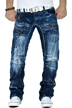 b92d073d2653 Kosmo Lupo Herren Jeans W36 L34  Amazon.de  Bekleidung