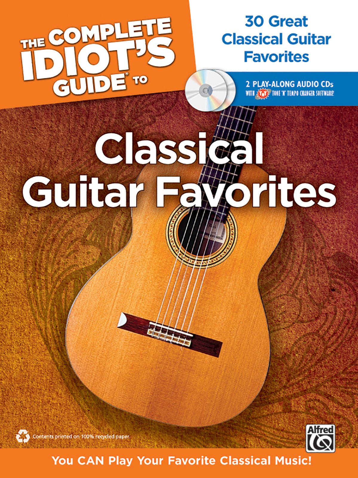 Amazon The Complete Idiots Guide To Classical Guitar Favorites