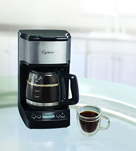 Amazoncom Capresso 42605 5 Cup Drip Mini Coffeemaker Blacksilver