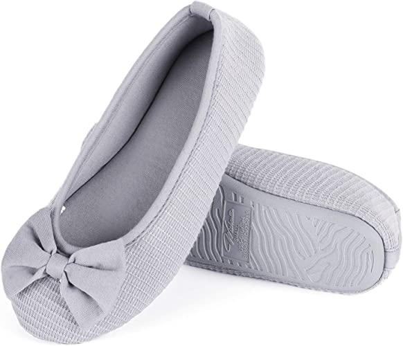 chaussons ballerines talon chaud femme well