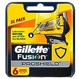 Gillette Fusion Proshield Flexball Regular Men's Razor Blades - Pack of 6