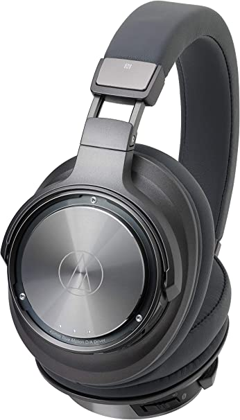 Audio-Technica Ath-Dsr9Bt - Auriculares de Diadema Inalámbricos con Pure Digital Drivetm