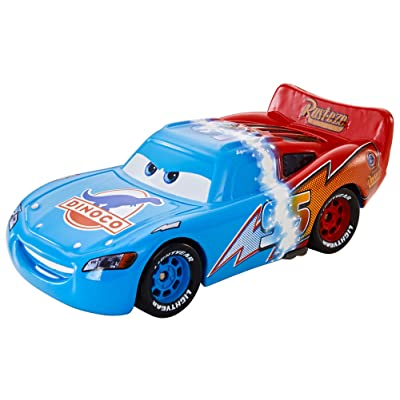 Disney/Pixar Cars Diecast Transforming Lightning Mcqueen Vehicle: Toys & Games