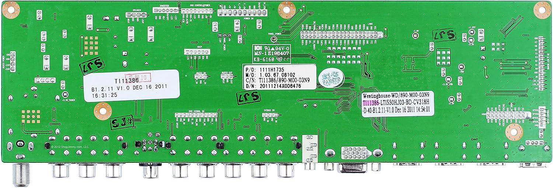 Westinghouse TI11386 Main Board for VR-5535Z