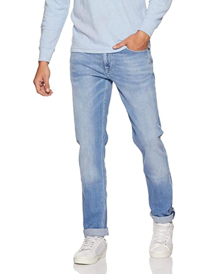 1b84577d Lee Men's (Bruce) Skinny Fit Mid Rise Jeans: Amazon.in: Clothing &  Accessories