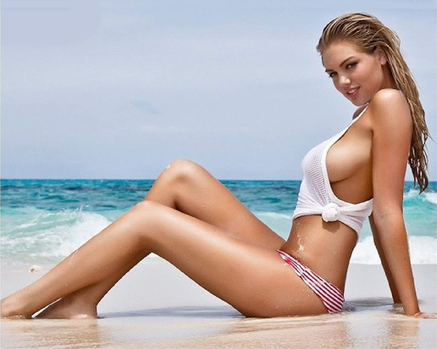 Kate Upton 8x10 11x14 Photo No Image is Cropped No white or black borders What you see is what you get Clock #MS0091