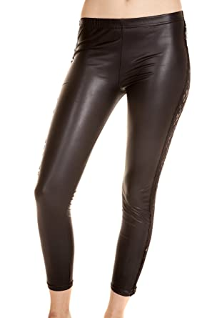 Unique Amazing Sexy Womens Leather Leggings at Amazon Women's ...