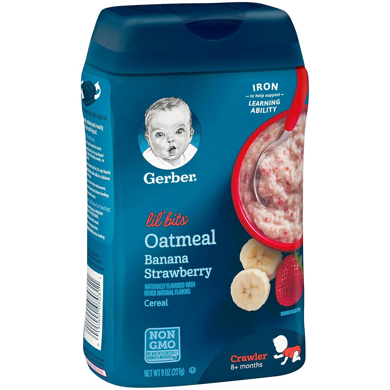 Bubur oatmeal instan untuk bayi, Gerber. (Foto: Bukalapak)