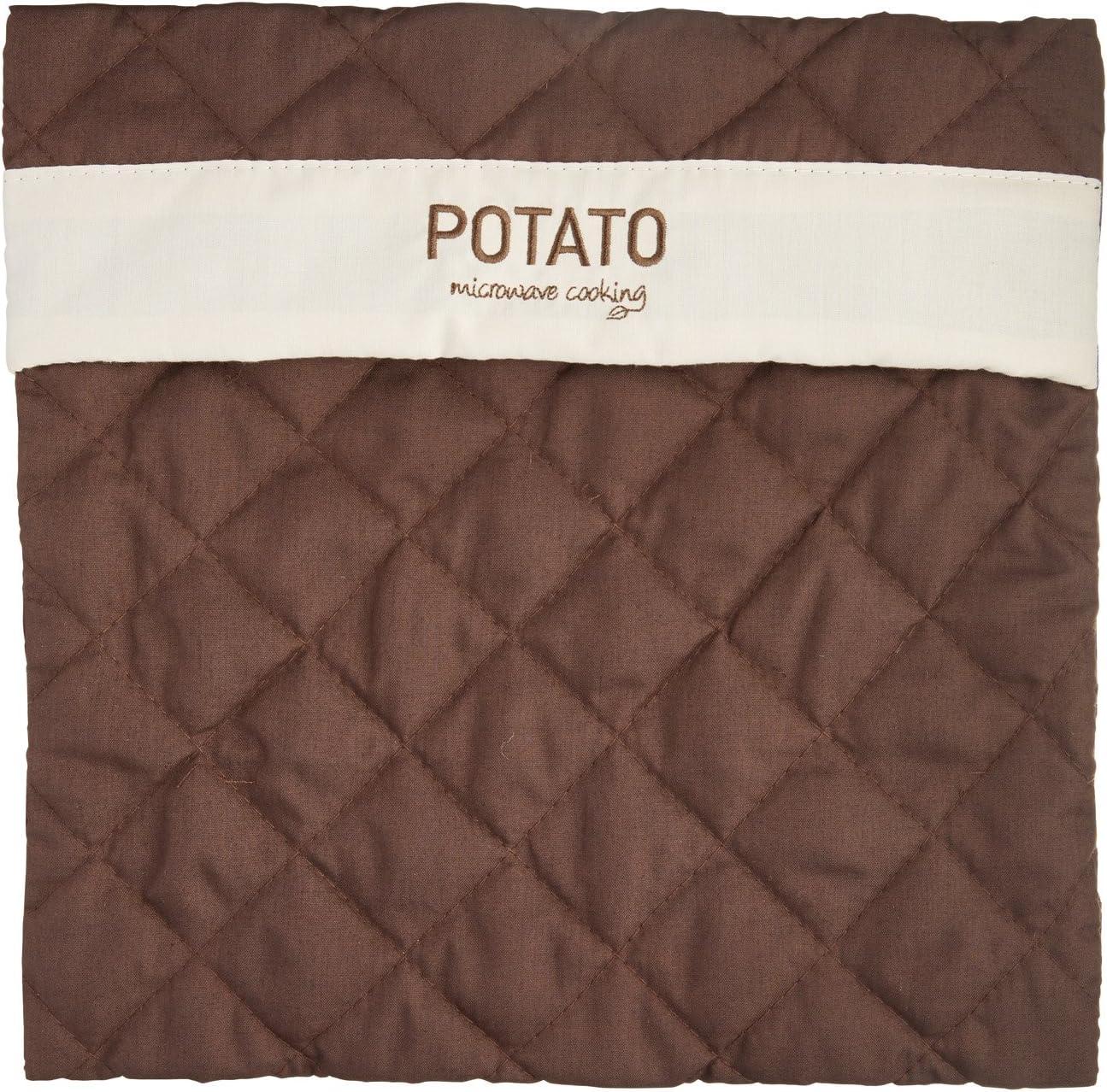 "Kitchencraft Microwave Cooking Potato Baker Bag, 28 x 28cm (11"" x 11"") - Brown"