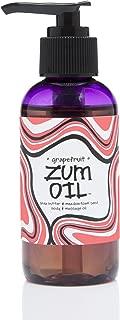 product image for Indigo Wild Zum Massage Oil, Grapefruit, 4 Fluid Ounce