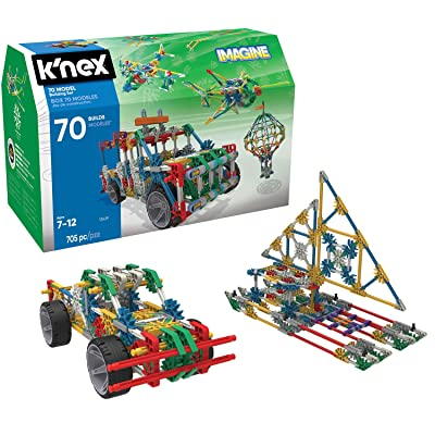 K'NEX 70 Model Building Set - 705 Pieces - Ages 7+ Engineering Education Toy ( Exclusive): Toys & Games