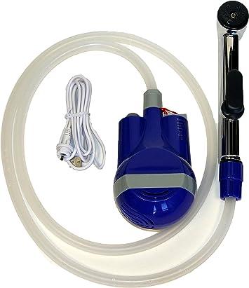 TONELIFE Bidet de voyage maunal anglais Facile /à utiliser avec sac de voyage Pulv/érisateur portable Buse coud/ée en vaporisateur capacit/é de 450 ml
