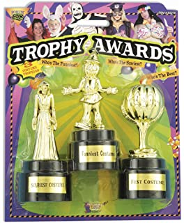 forum novelties costume party award trophies 3 pack