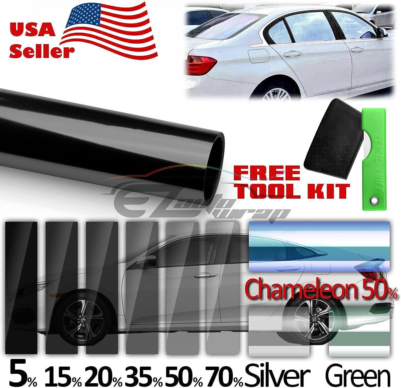 "30/""X40FT Vlt 35/% Uncut Roll Window Tint Film Charcoal Black Car Glass Office"