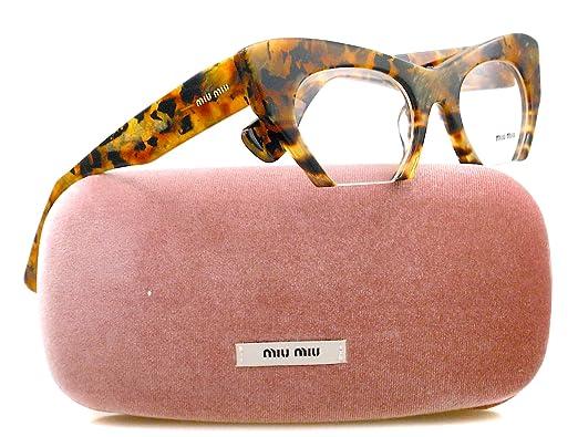 a3e2b6a078f9 Miu Miu Eyeglasses VMU 04M Tortoise MAN-1O1  Amazon.co.uk  Clothing