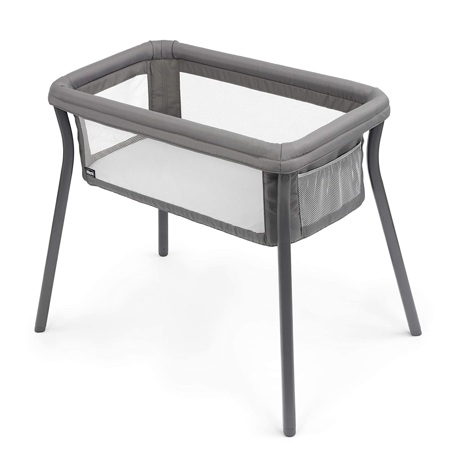 Chicco LullaGo Anywhere Portable Bassinet - Sandstone, Grey