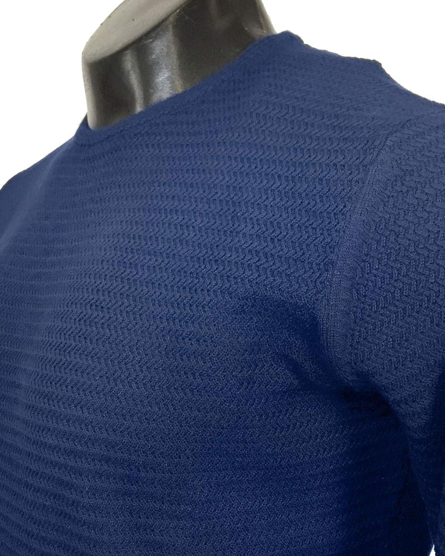 MASSIMO DUTTI - Jerséi - para Hombre Azul Azul XXL: Amazon.es ...